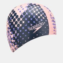 Speedo Long Hair Printed Swimming Cap