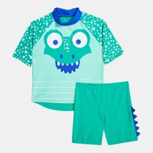 Speedo Kids' Corey Croc Swimming Top & Shorts Set