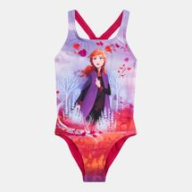 Speedo Kids' X Disney Frozen 2 Anna Medalist Swimsuit