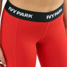 IVY PARK Women's I Low Rise Logo Elastic Web Ankle Leggings, 1699999