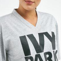 IVY PARK Women's Logo V-Neck Crop Top, 1700079