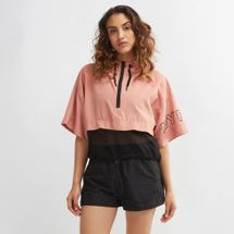 IVY PARK Cropped Mesh Panel Jacket