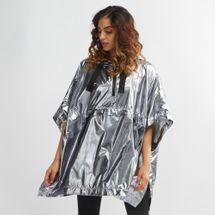IVY PARK Metallic Hooded Poncho
