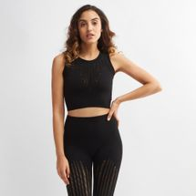 IVY PARK Seamless Ribbed Crop Top