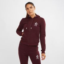 Gym King Jenner Zip Through Hoodie