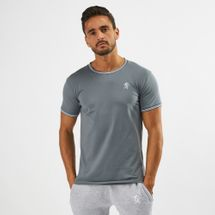 Gym King Signature Tipped T-Shirt Grey