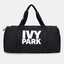 IVY PARK Women's Stacked Logo Gym Barrel Bag