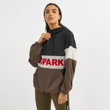 IVY PARK Sheer Flocked Active Logo Jacket