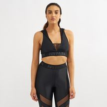 IVY PARK Regal Drape Hooded Sports Bra