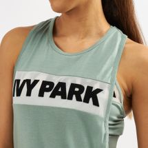 IVY PARK Sheer Flocked Logo Tank Top, 1420604