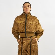 IVY PARK Military Flight Corset Bomber Jacket