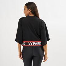 IVY PARK Logo Flatknit Crop T-Shirt, 1418074