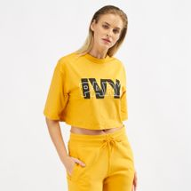 IVY PARK Layer Crop Logo T-Shirt