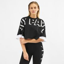 IVY PARK Shadow Logo Cropped T-Shirt