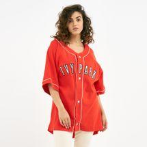 IVY PARK Women's Baseball Oversize Logo T-Shirt