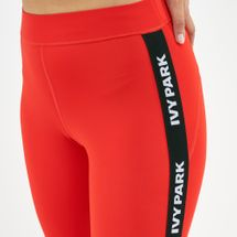 IVY PARK Women's Active Logo Elastic Tape Leggings, 1700059