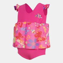Zoggs Kids' Mermaid Flower Learn To Swim Float Suit (Baby & Toddler), 1718449