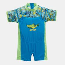 Zoggs Kids' Deep Sea Water Wing Floatsuit