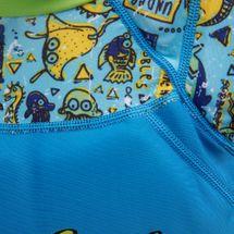 بدلة السباحة ديب سي وينج العائمة من زوجز للاطفال, 1147659