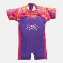 Zoggs Kids' Mermaid Flower Water Wing Floatsuit