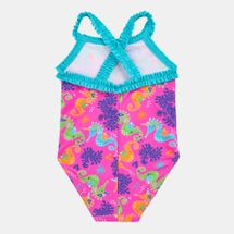 Zoggs Kids' Sea Unicorn X Ruffle Back One-Piece Swimsuit (Younger Kids)