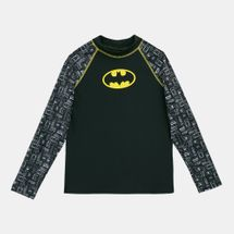 Zoggs Kids' Batman Printed Long Sleeve Sun Top (Younger Kids)