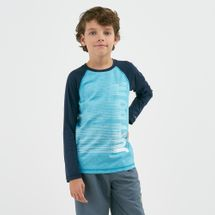 Nike Swim Kids' Heather JDI Long Sleeve T-Shirt (Older Kids)