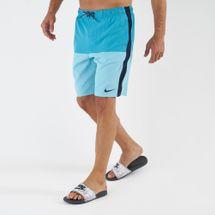 Nike Swim Men's Solid Vital 7 Inch Boardshorts Blue