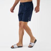 Nike Men's Solid Vital 7 Inch Boardshorts