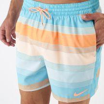 Nike Swim Men's 6:1 Linen Racer Boardshorts, 1701985