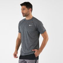 Nike Men's Heather Short Sleeve Hydroguard T-shirt