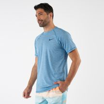 Nike Swim Men's Heather Short Sleeve Hydroguard T-shirt