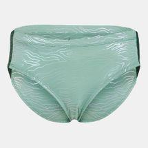 Nike Swim Women's Geo Onyx Hipster Bikini Bottom