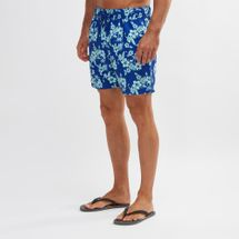 South Beach Hibiscus Print Swim Shorts
