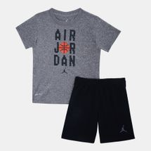 Jordan Kids' Air Jordan Pixel T-Shirt and Shorts Set