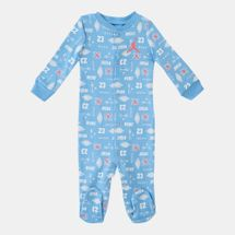 Jordan Kids' MJ Footed Coverall (Baby and Toddler)
