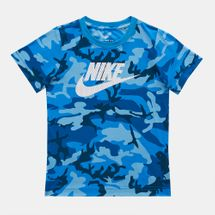 Nike Kids' Mesh Futura Camo Knit T-Shirt (Younger Kids), 1283505