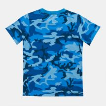 Nike Kids' Mesh Futura Camo Knit T-Shirt (Younger Kids), 1283506