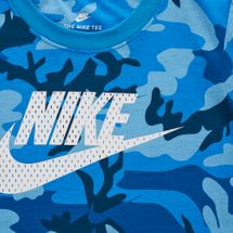 Nike Kids' Mesh Futura Camo Knit T-Shirt (Younger Kids), 1283507