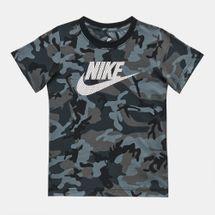 Nike Kids' Mesh Futura Camo Knit T-Shirt