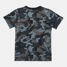 Nike Kids' Mesh Futura Camo Knit T-Shirt (Younger Kids), 1283503