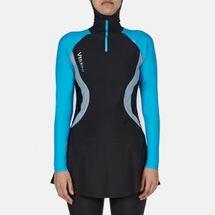 Veilkini Aqua Vintage Modest Cover Swimsuit, 363174