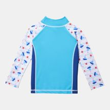 COÉGA Kids' Long Sleeve Rashguard Swimshirt, 792665