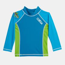 COÉGA Kids' Long-Sleeve Rashguard Swimshirt