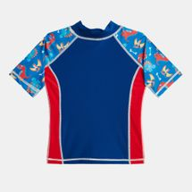 COÉGA Kids' Short-Sleeve Rashguard Swimshirt, 1129321