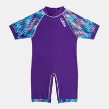 COÉGA Kids' 1-Piece Abstract Print Swimsuit