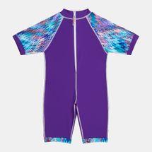 بدلة سباحة ابستراكت برينت (قطعة واحدة) من كويغا للاطفال, 1129389