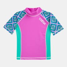 Coega Kids' Pink Diamond Rashguard (Younger Kids)