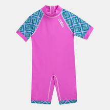 Coega Kids' 1 Piece Pink Diamond Swim Suit (Older Kids)
