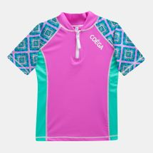 Coega Kids' Pink Diamond Rashguard (Older Kids)